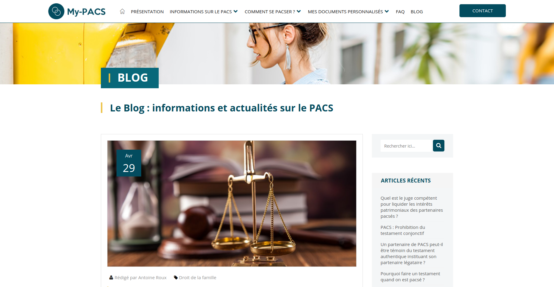 My-PACS blog